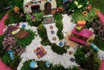 minature garden/ fairy garden