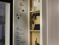 shallow cabinet for keys