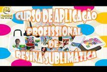 Aprenda a Resinar Produtos para Sublimação / Aprenda a resinar seus próprios produtos para sublimação e aumente seus lucros!