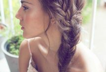Hair & makeup inspirations / Beatiful hair styles and makeup tips.
