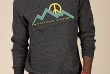 mtn. peace 2013 / The design featured on these garments is inspired by our love of mountains and of landscape.