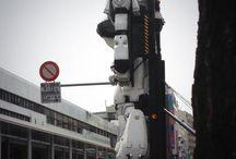 PATLABOR / INGRAM 2014年4月13日に吉祥寺に来た実物大のイングラムです。