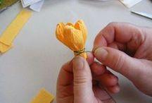 papierove kvety