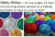 glitter activities