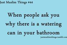 jus Muslim things
