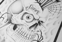 Skulls / skulls by Yoh Dabrooks