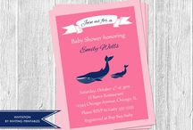 Baby Showers / by Veronica InvitingPrintables