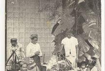 Indische / Time trip of Indonesians then and now. A comical description of the region's habits in clothes, avatars and photographs.