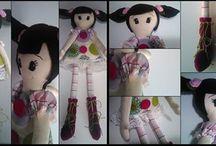 handmade fabric dolls.  χειροποίητες  υφασμάτινες κούκλες. από  το kokkino poua.gr / handmade fabric dolls.  χειροποίητες  υφασμάτινες κούκλες από το kokkino poua.gr