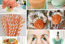 { peach & mint weddings }