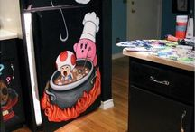 Mario Themed Decor / Items / From Mario themed refrigerators to entire rooms dedicated to Mario