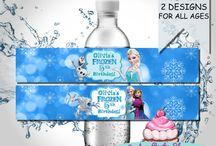 Birthday frozen