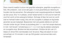 Koken/recepten