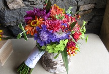 Bright Multi-Color Weddings / Spring Summer or Fall- Fun and vivd weddings -- perfect for a neutral venue or tent weddngs!