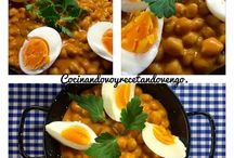 Ensaladas>> porotos, guisantes, legumbres