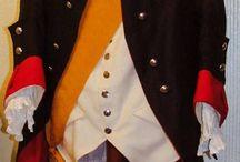 Hessen-Kasselsche Garnisons-Regiment von Bünau / Offiziersrock um 1776