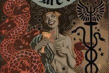 Demon / Whore of Babylon, Goetia, all appetite, never satiated / by Jennifer Parsons