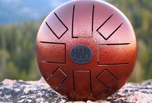 Music Instrument HAPI Steel Tongue Drum In Yosemite National Park / It's so easy to bring along your Mini HAPI Drum anywhere you go. Play it in the park, bring it over to a friends house, or take it camping. Fits in day packs for easy travel and even has its own optional padded bag for transport and storage.