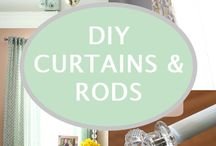 curtains / Curtains, curtains and more curtains. Will I ever get around to putting these ideas up in my house? Who knows! But if I do, you know they'll be gorgeous. / by Joanna Liberty of JustJoanna.com