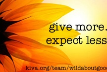 wild about good™ / our Kiva lending team & more / by a wild soap bar LLC