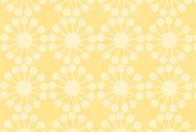 Papiers fond jaune,ivoire,orange,saumon
