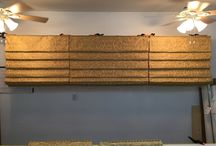 How To Make A Hobbled Roman Shade / This is a 6 part comprehensive series on how to make Hobbled Roman Shades and walks you through each process from start to finish!