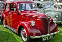 Ford Prefect / My grandpa's sister had a Ford Prefect, pastel green. I dream of finding and owning that car...