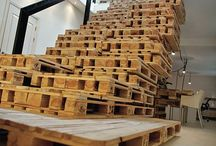 Pallets!  / I LOVE pallets. seriously.  / by Ally