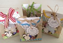 Easter ideas / Easter bags made 2014
