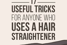 hair straightener tricks