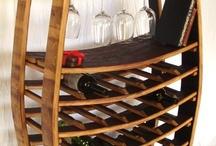 wine barrel dekoration