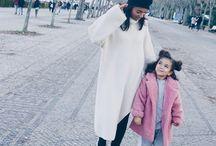 Mum and daughter look