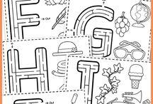 Abeceda předškoláci / Rozvíjení počáteční gramotnosti u předškoláků; tipy, jak předškolákům představit písmenka (jazyk)