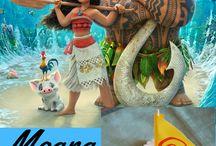 Kid's Party - Moana / Disney Moana Birthday Party Ideas for Kids
