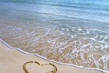 Beach  love a