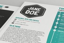 Resume/Cv Design / Bespoke Personal Resumes Designed By White Rabbit Graphic Design - Auckland, New Zealand