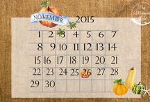 free printables & desktop calendars -THE MERMAIDS TALE