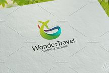 Travel Logo Template for sale