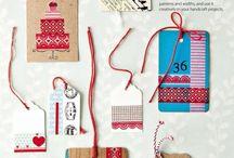 Washi tape ideas / by Semra Bayrak