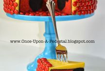 Micky mouse cake, party ideas for Niko 1st Birthday / Cakes ect