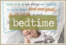 sweet dreams: bedtime traditions / Ahh . . . bedtime rolls around for the younger ones.  And it can be a particularly special or stressful time depending on everyone's mood.  We all want to put our kids to bed in a relaxing way so they can sleep contented, have sweet dreams, and wake up refreshed.  So wrapping some practicality in with a little fun ensures that families can enjoy a happy ending to every day.
