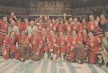 World Cup and Europe Ice Hockey Championship 1976 KATOWICE