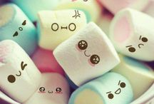 Marshmallow / These marshmallows are perfect for a back round on iPad, iPod, phone, exedra.....