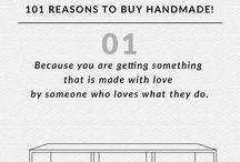 101 Reasons to buy handmade