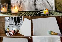 canvas portait diy