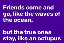 Friendship's all my world!