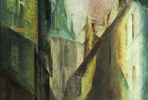 Lyonel Feininger / With a warped,but an erect look. ファイニンガー。屈折した、まっすぐなまなざし。
