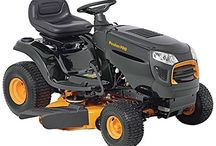 Riding Lawn Mower / Buying Ride-On Lawn Mowers can be tricky so here's a choice of Ride-On Mowers, including well-known brands for you to choose from.
