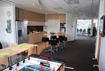 Skanska - Az Év Irodája 2013 jelölt / A Skanska Magyarország  Ingatlan Kft. röviddel a Green House irodaház 2012 decemberi átadása után költözött be új 5. emeleti irodájába.