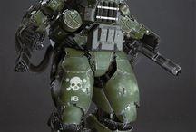 armaduras de combate